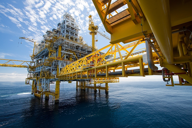 Oil and gas platforms provide greater exposure to UV light