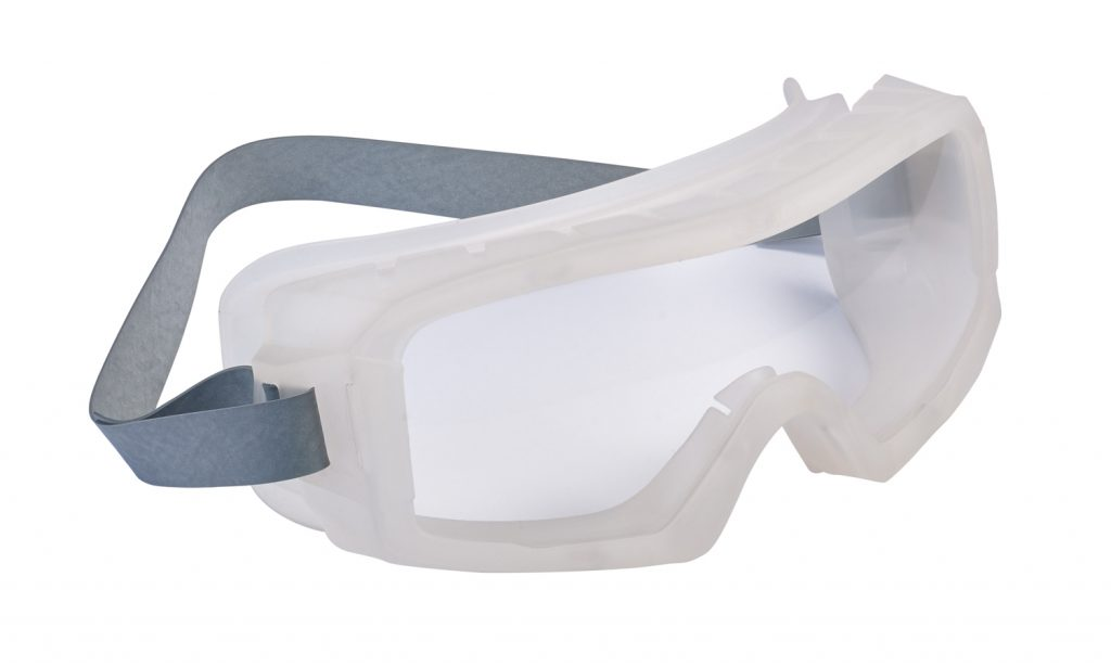 Bolle Safety coverall Autoclave goggles provide ultimate protection from infection in sterile environments