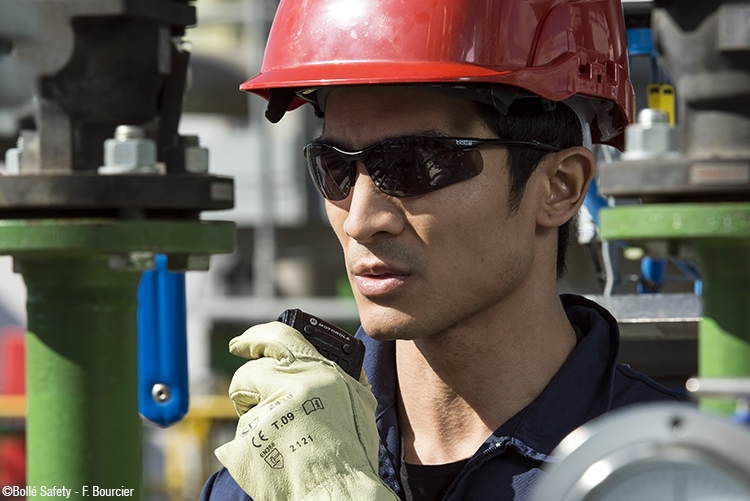 bolle safety has a large range of safety eyewear offering UV protection
