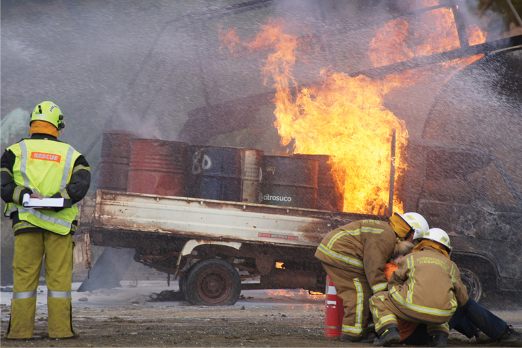 fire goggles are important for firefighter safety