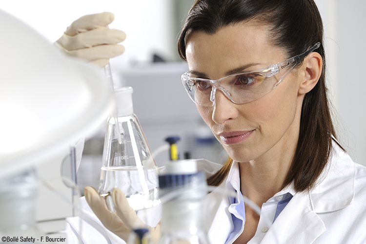 protective eyewear is essential when handling chemicals in pharmaceutical environments