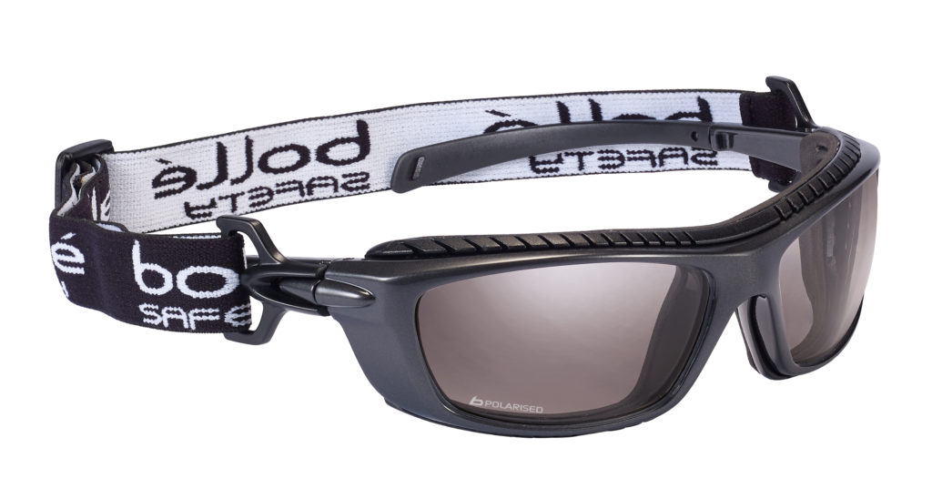 Baxter Polarised Safety glasses with Gasket