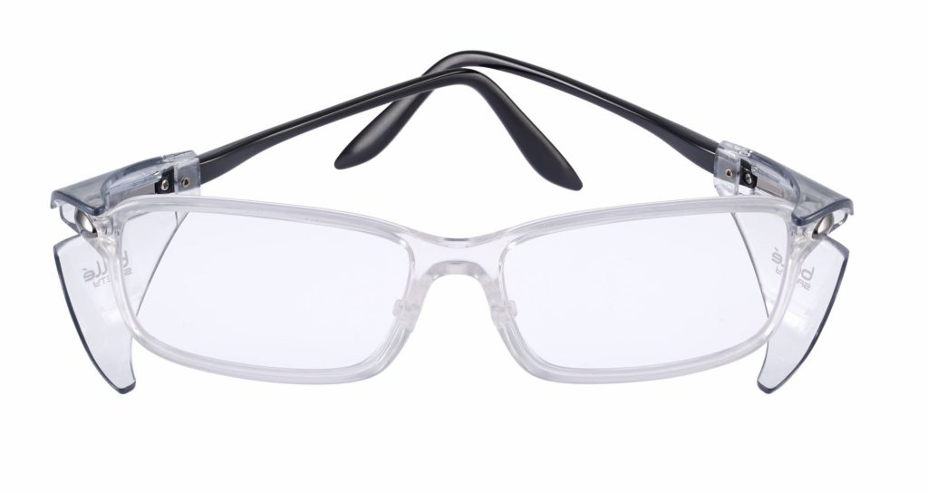 bolle safety B809BL safety glasses with side shields protect from blue light