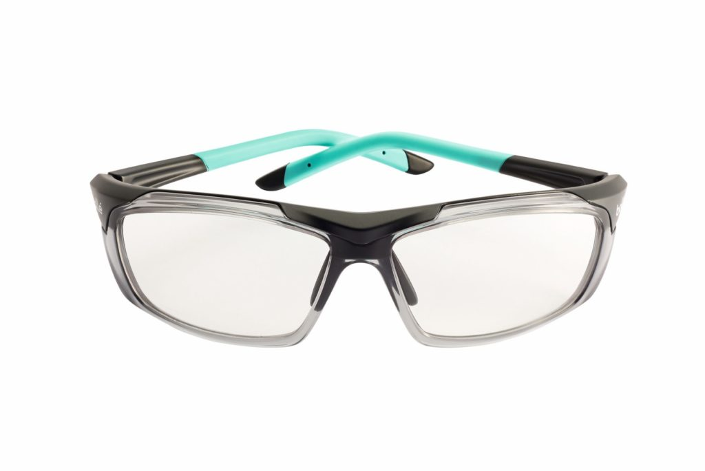 bolle safety Harper safety glasses block blue light and provide medium impact protection